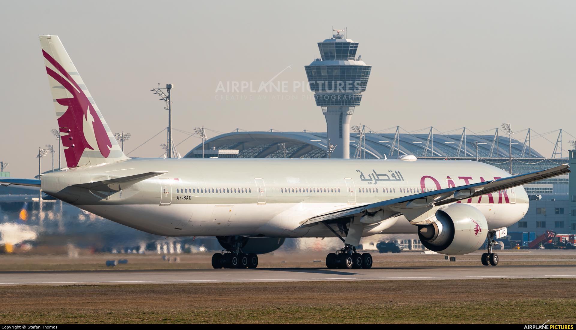 Qatar Airways A7-BAO aircraft at Munich