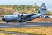 USAF Lockheed WC-130J visited San Jose title=