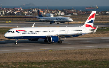 G-NEOS - British Airways Airbus A321 NEO