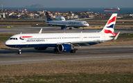 G-NEOS - British Airways Airbus A321 NEO aircraft