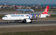 TC-JSU - Turkish Airlines Airbus A321 aircraft