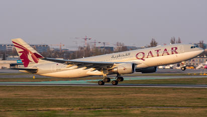 A7-ACG - Qatar Airways Airbus A330-200