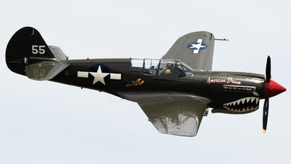 KMLB - Private Curtiss P-40N Warhawk
