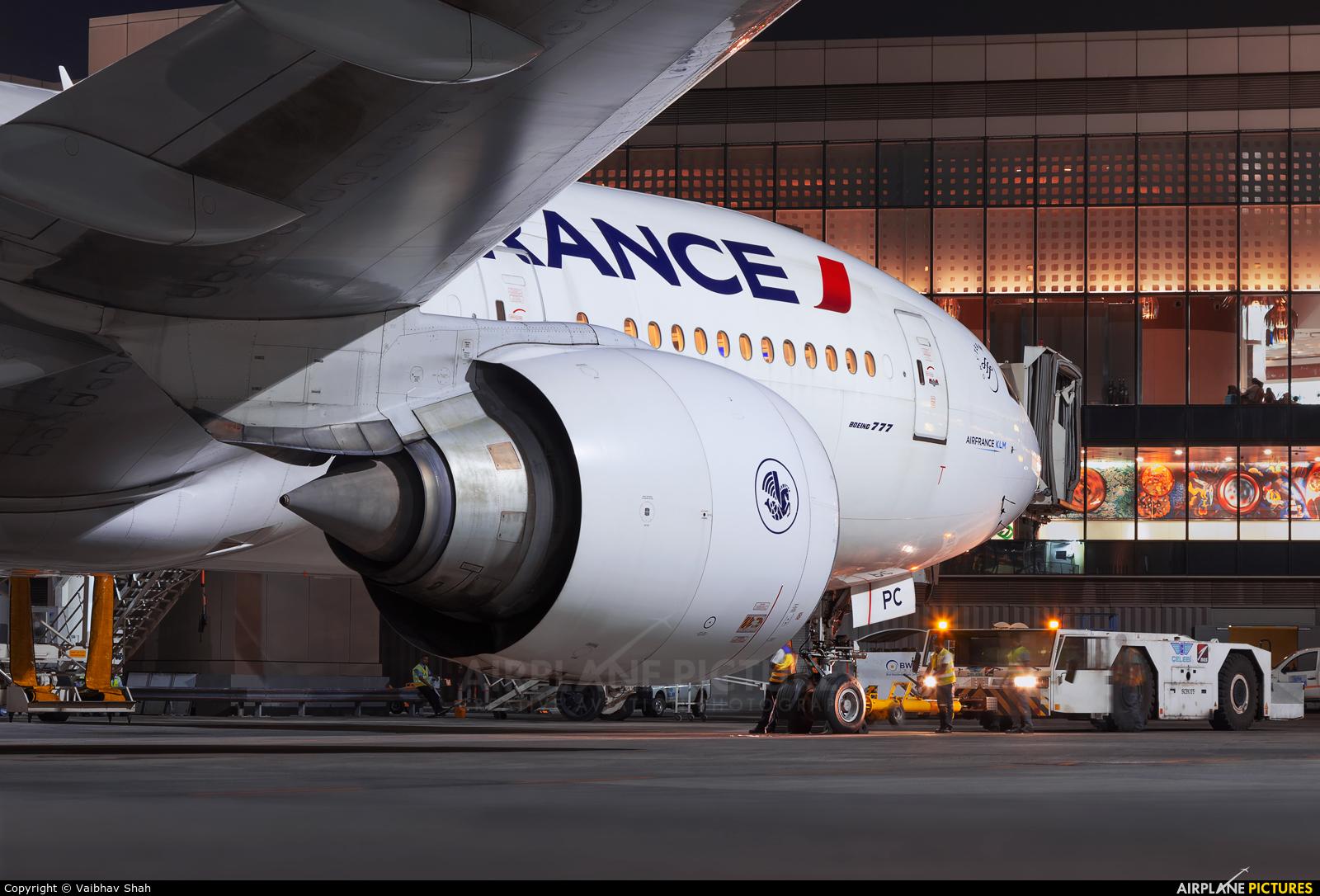 Air France F-GSPC aircraft at Mumbai - Chhatrapati Shivaji Intl