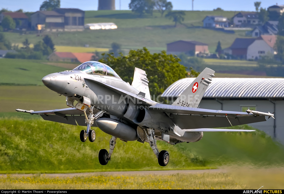 Switzerland - Air Force J-5234 aircraft at Payerne