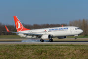 TC-JZF - Turkish Airlines Boeing 737-800 aircraft