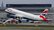 G-EUYK - British Airways Airbus A320 aircraft
