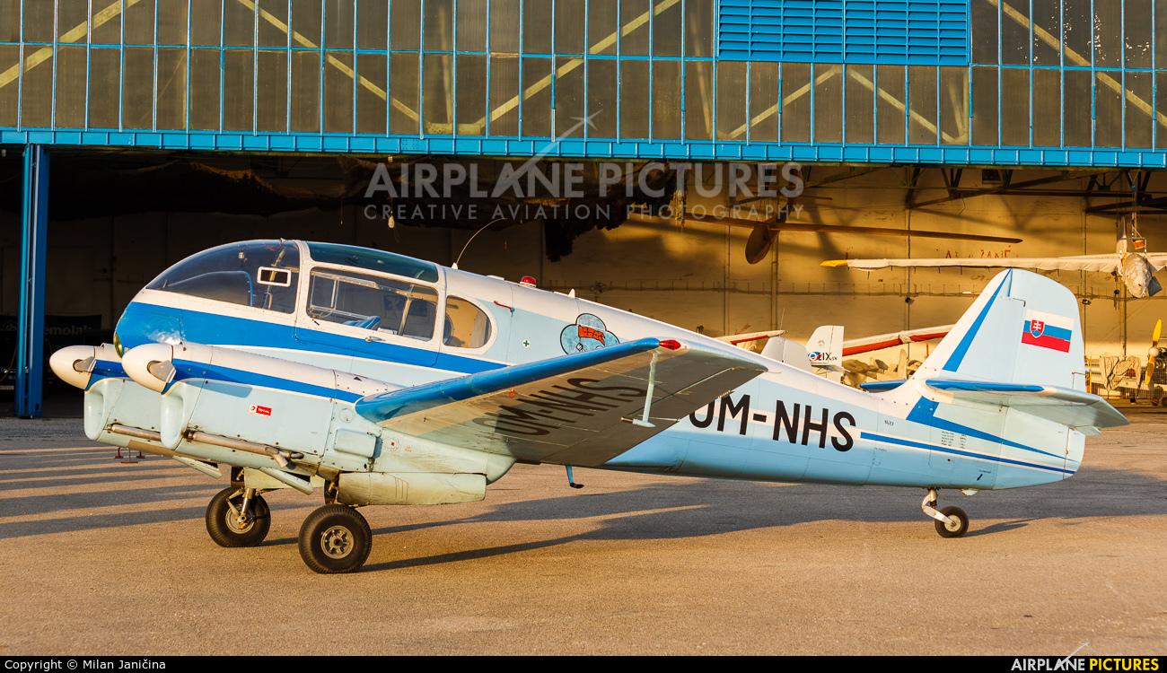 Private OM-NHS aircraft at Nitra