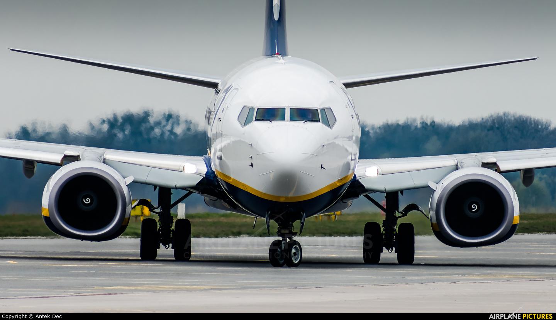 Ryanair EI-GJT aircraft at Wrocław - Copernicus