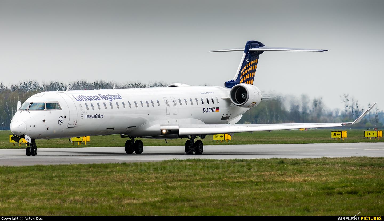 Lufthansa Regional - CityLine D-ACNX aircraft at Wrocław - Copernicus
