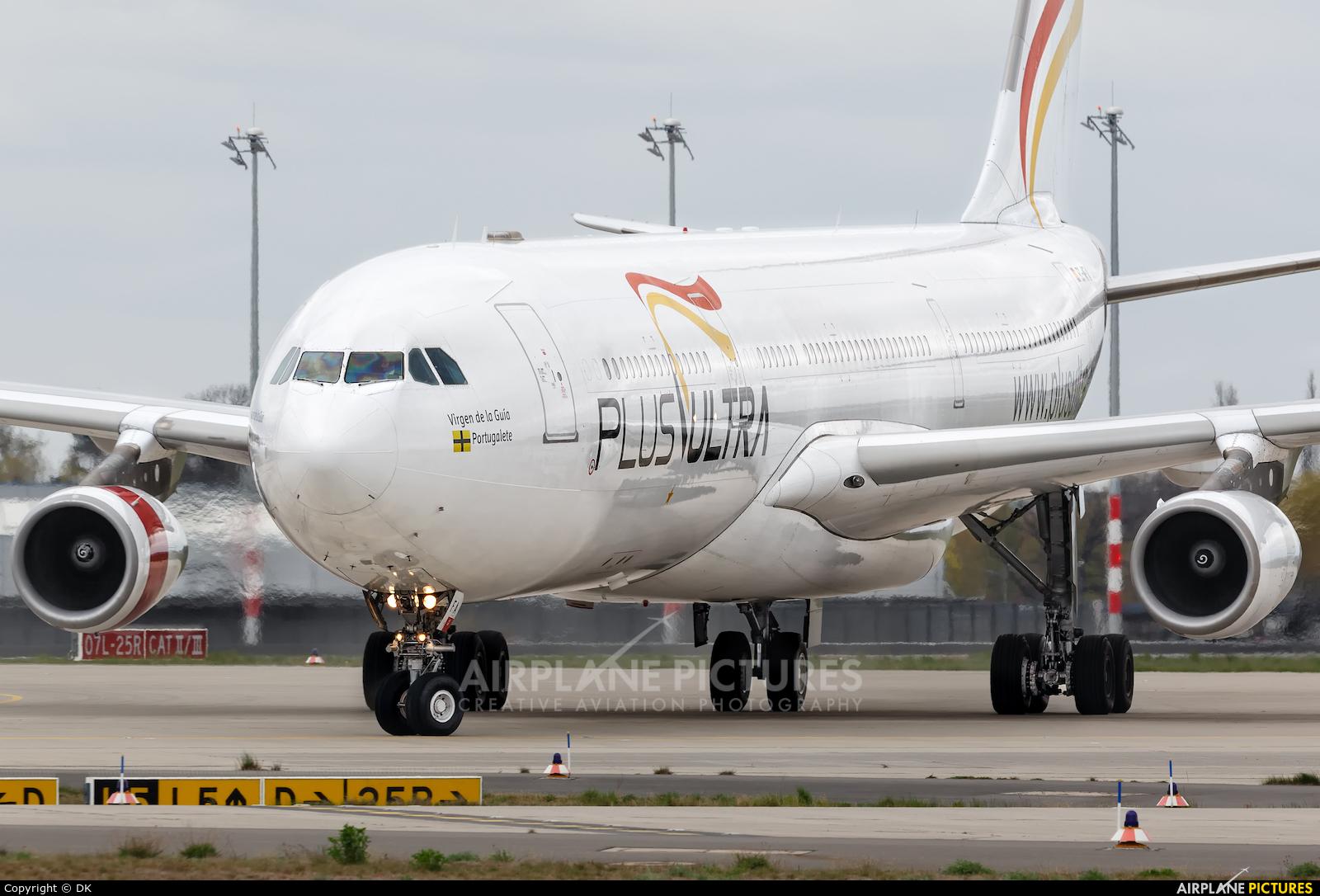 Plus Ultra EC-MFA aircraft at Berlin - Schönefeld