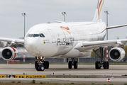 EC-MFA - Plus Ultra Airbus A340-300 aircraft