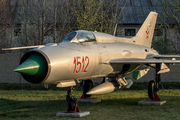 1512 - Hungary - Air Force Mikoyan-Gurevich MiG-21PF aircraft