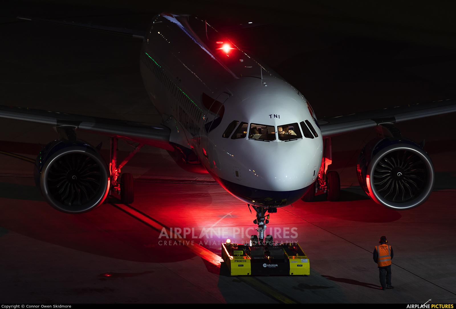 British Airways G-TTNI aircraft at London - Heathrow
