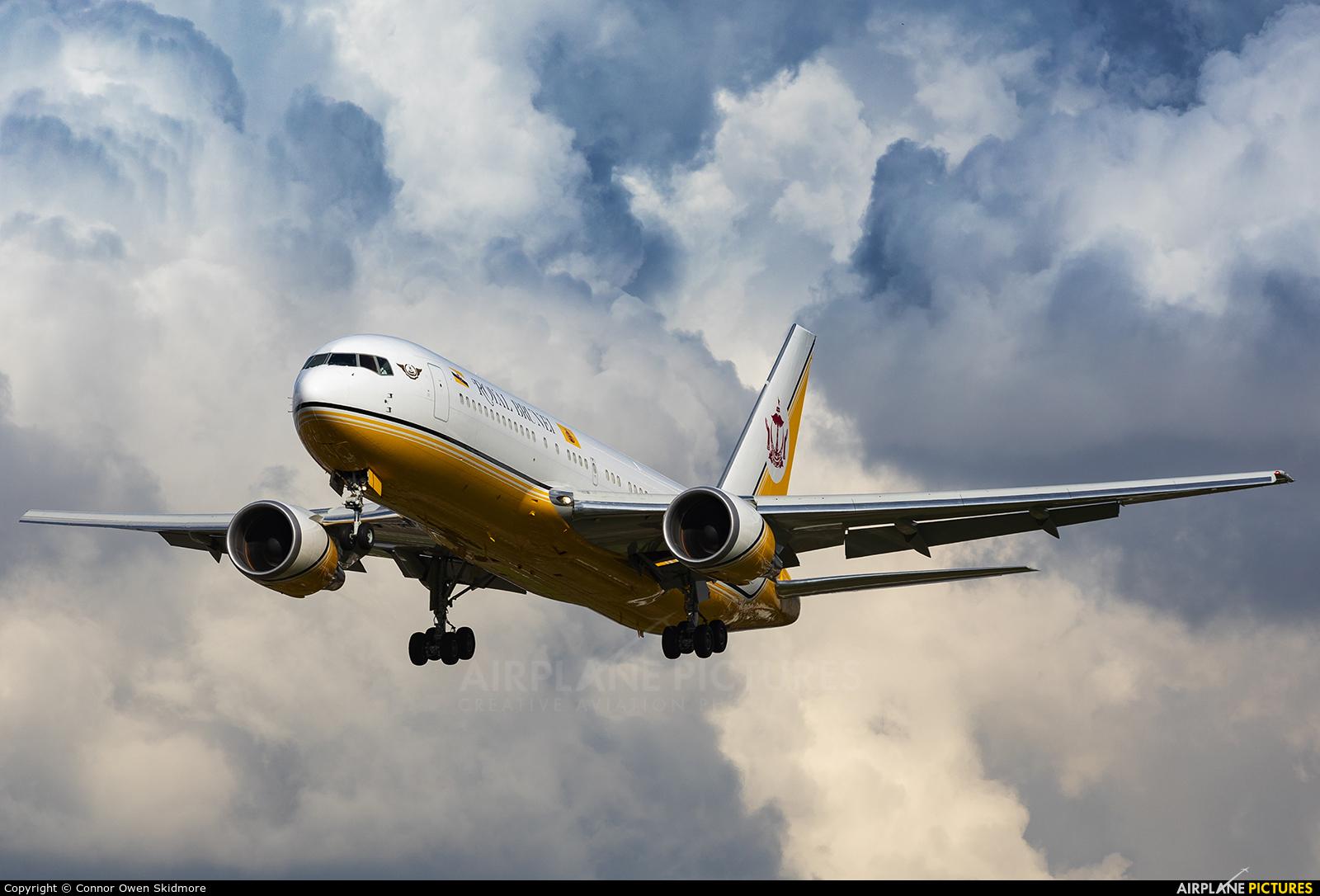 Royal Brunei Airlines V8-MHB aircraft at London - Heathrow