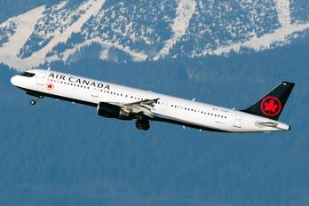 C-FGKP - Air Canada Airbus A321