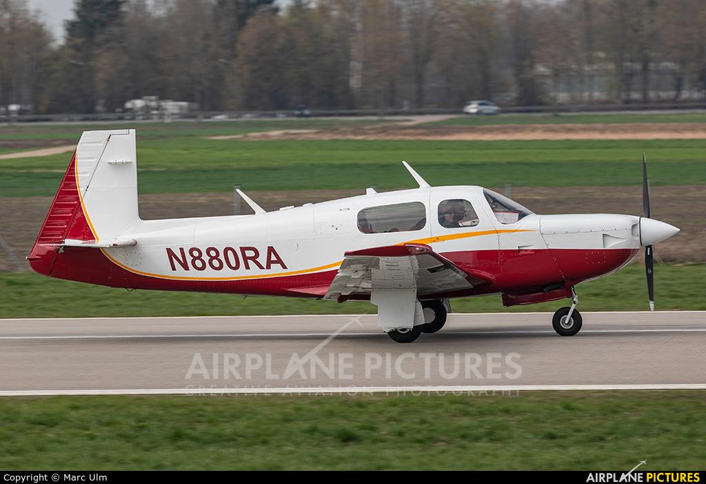 Private N880RA aircraft at Augsburg