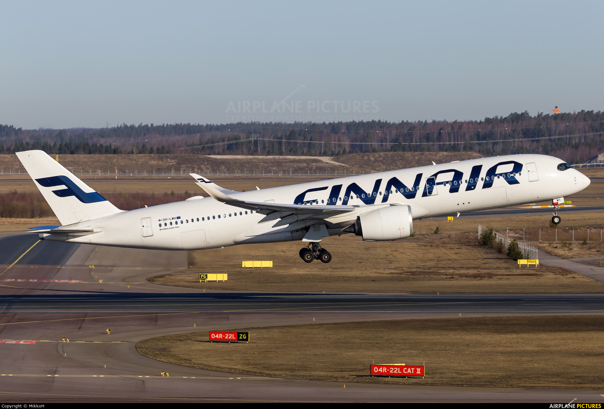 Finnair OH-LWH aircraft at Helsinki - Vantaa