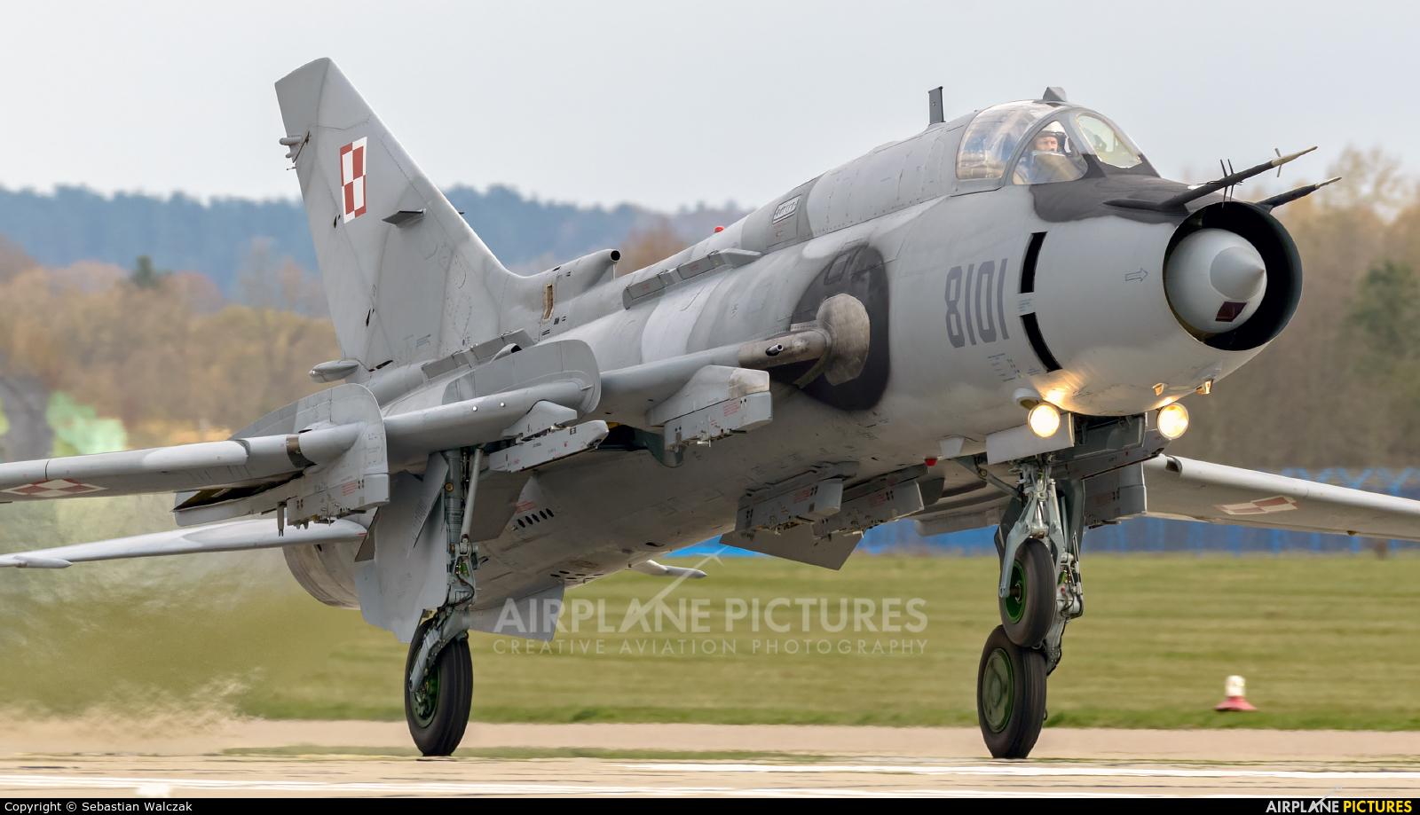 Poland - Air Force 8101 aircraft at Świdwin