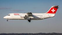 HB-IXP - Swiss British Aerospace BAe 146-300/Avro RJ100 aircraft