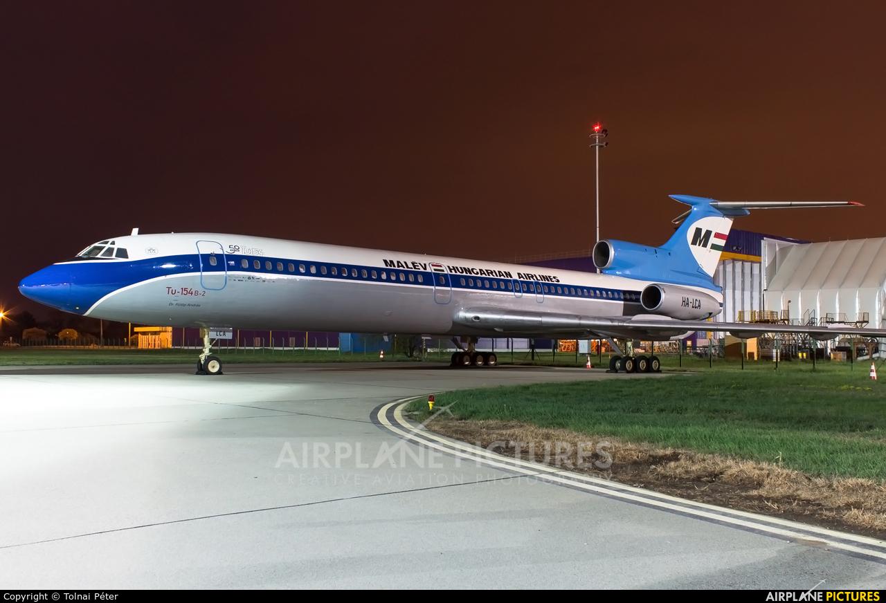 Malev HA-LCA aircraft at Budapest Ferenc Liszt International Airport