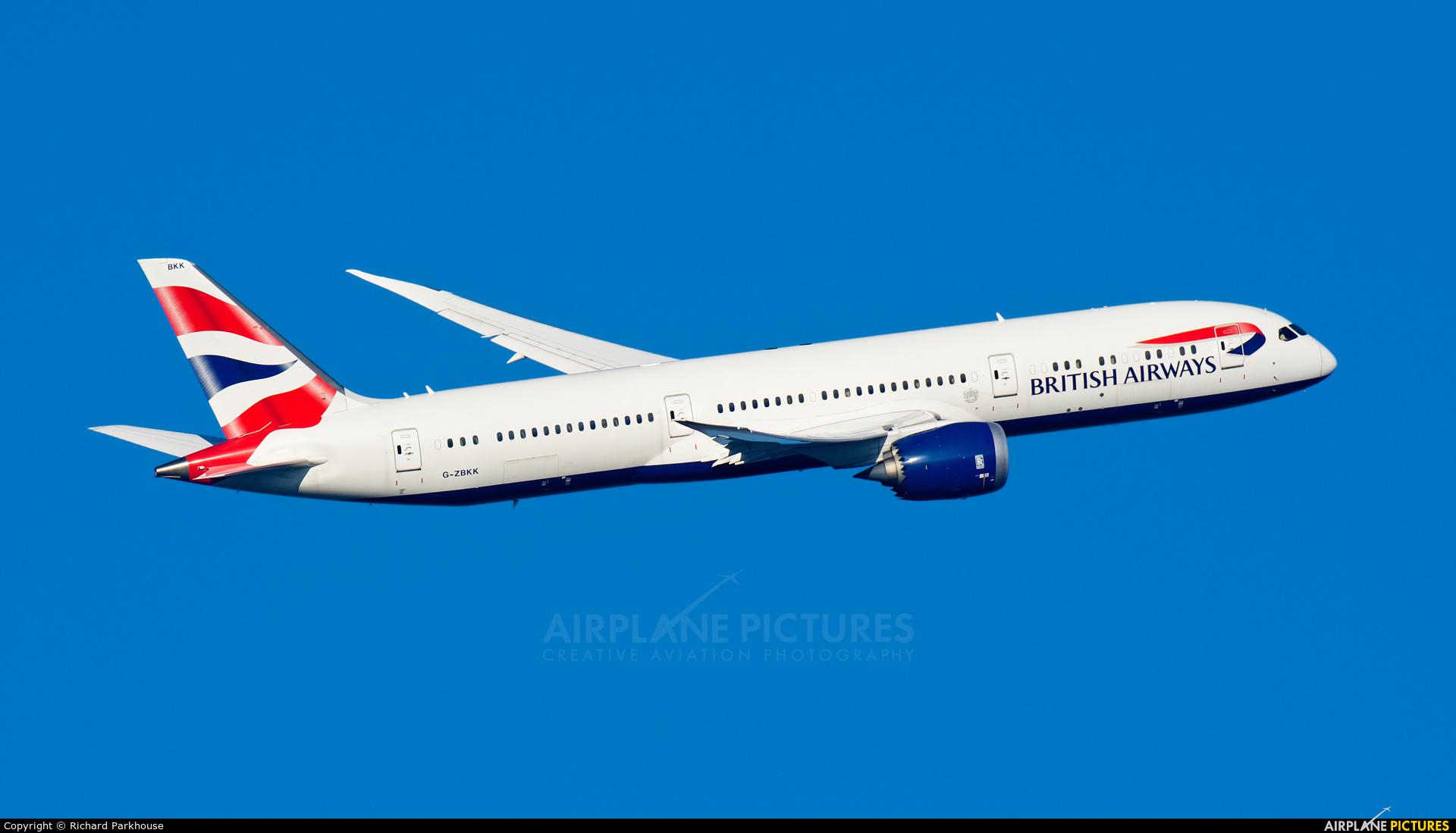 British Airways G-ZBKK aircraft at London - Heathrow
