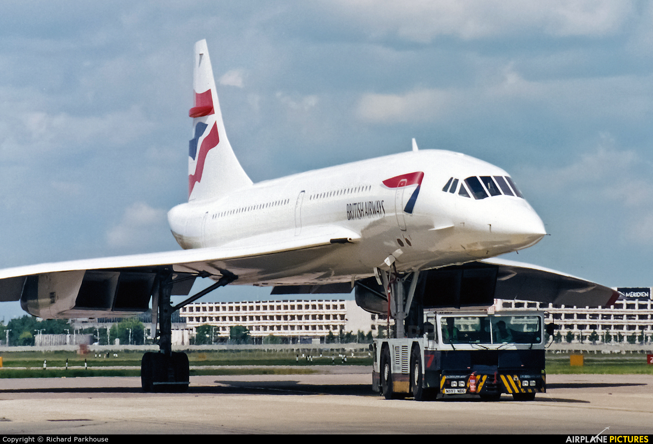 British Airways G-BOAG aircraft at London - Heathrow