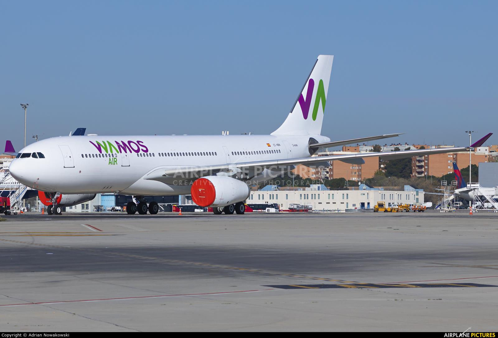 Wamos Air EC-NBN aircraft at Madrid - Barajas