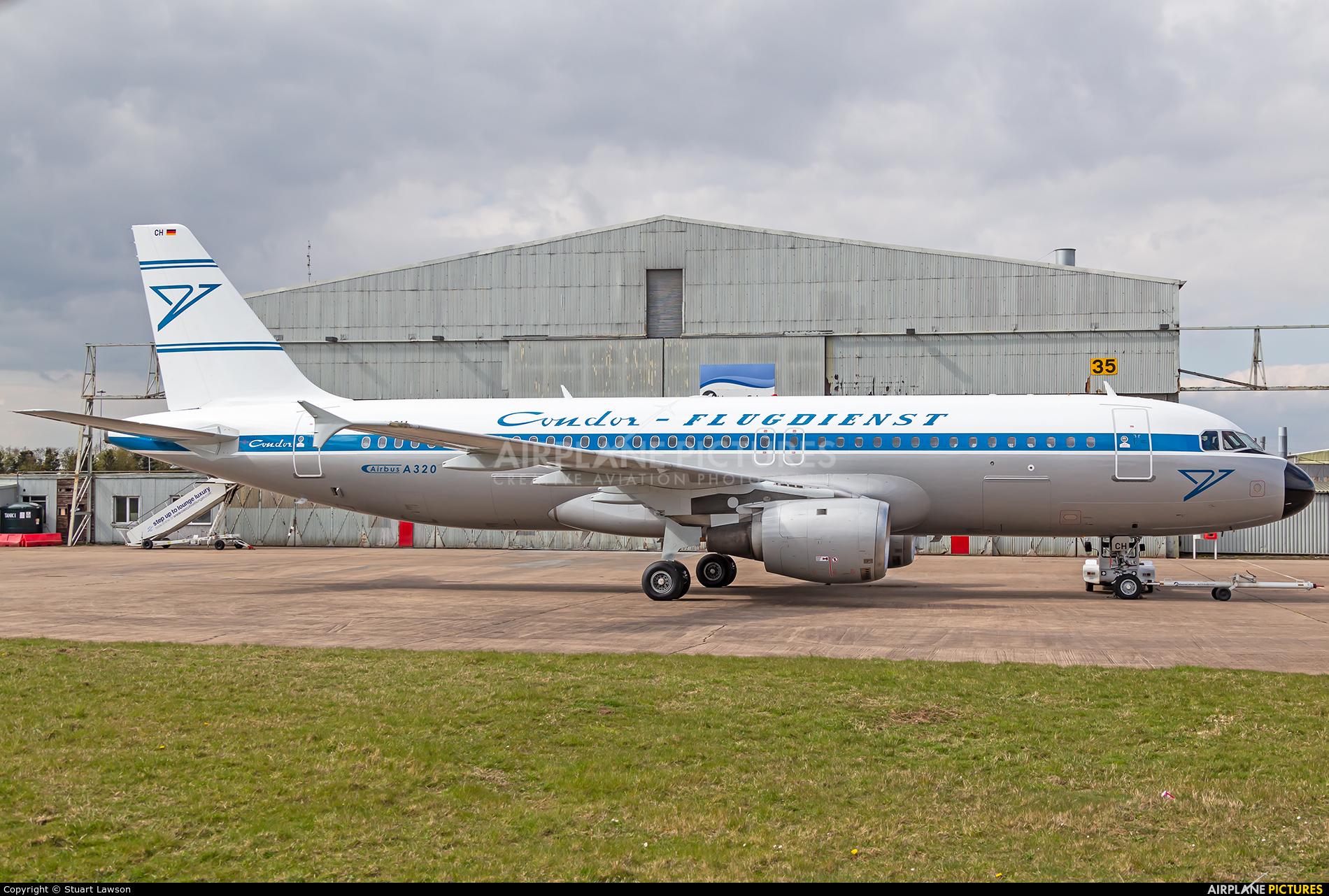 Condor D-AICH aircraft at East Midlands