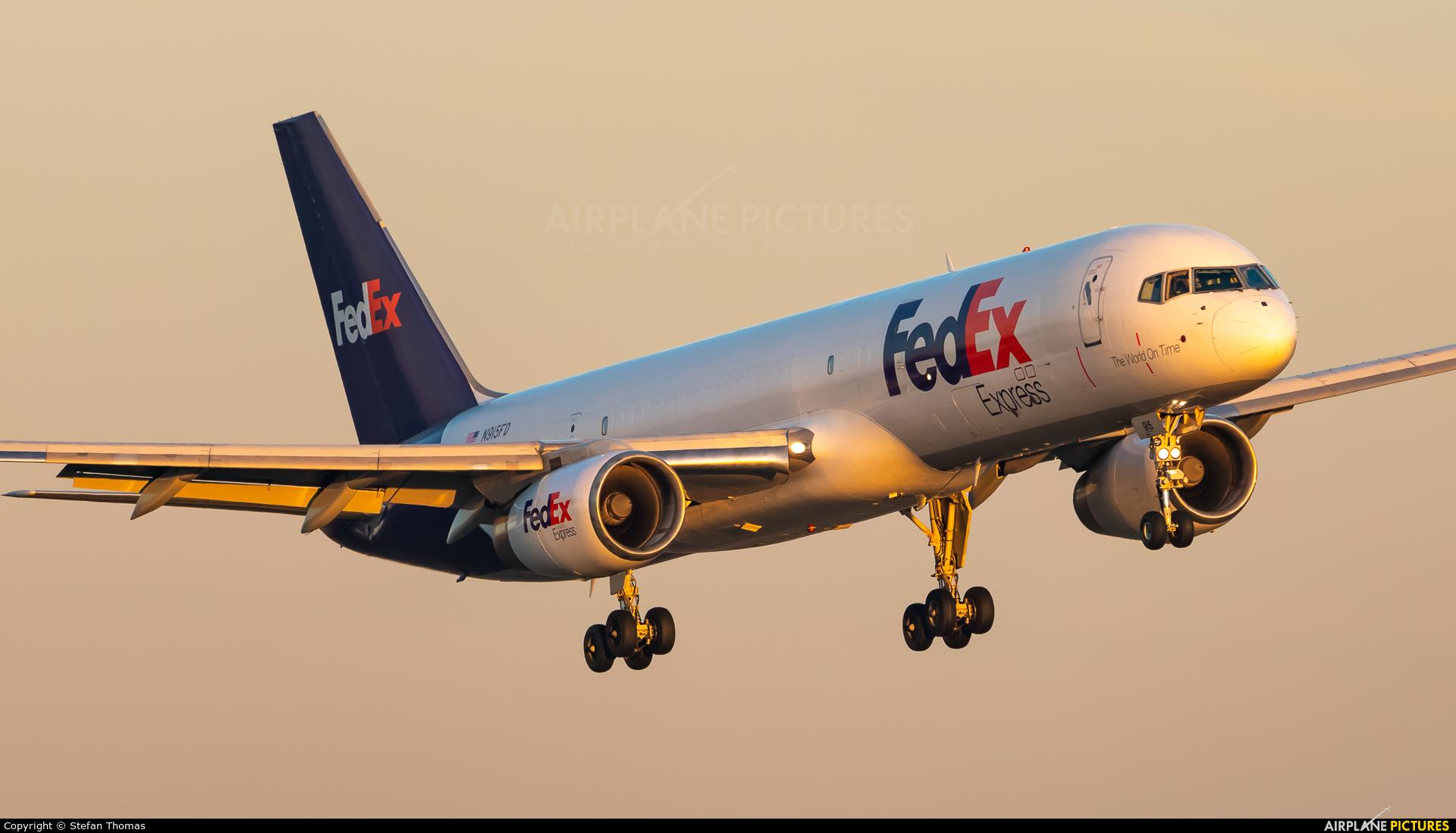 FedEx Federal Express N915FD aircraft at Munich