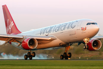 G-VLNM - Virgin Atlantic Airbus A330-200