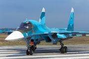 14 - Russia - Air Force Sukhoi Su-34 aircraft