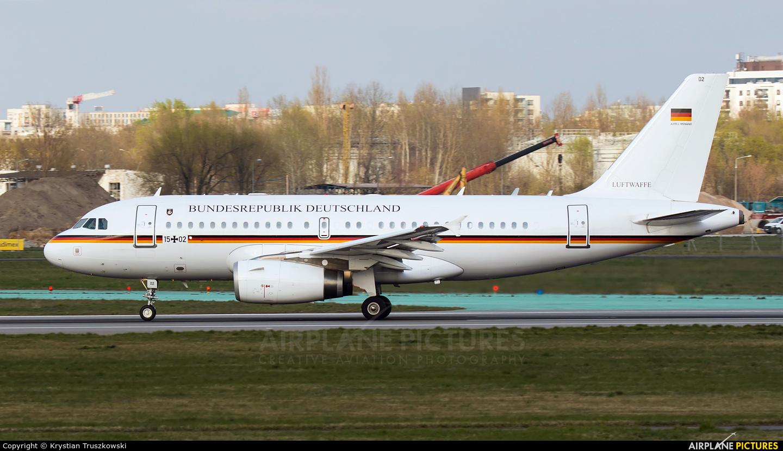 Germany - Air Force 15+02 aircraft at Warsaw - Frederic Chopin