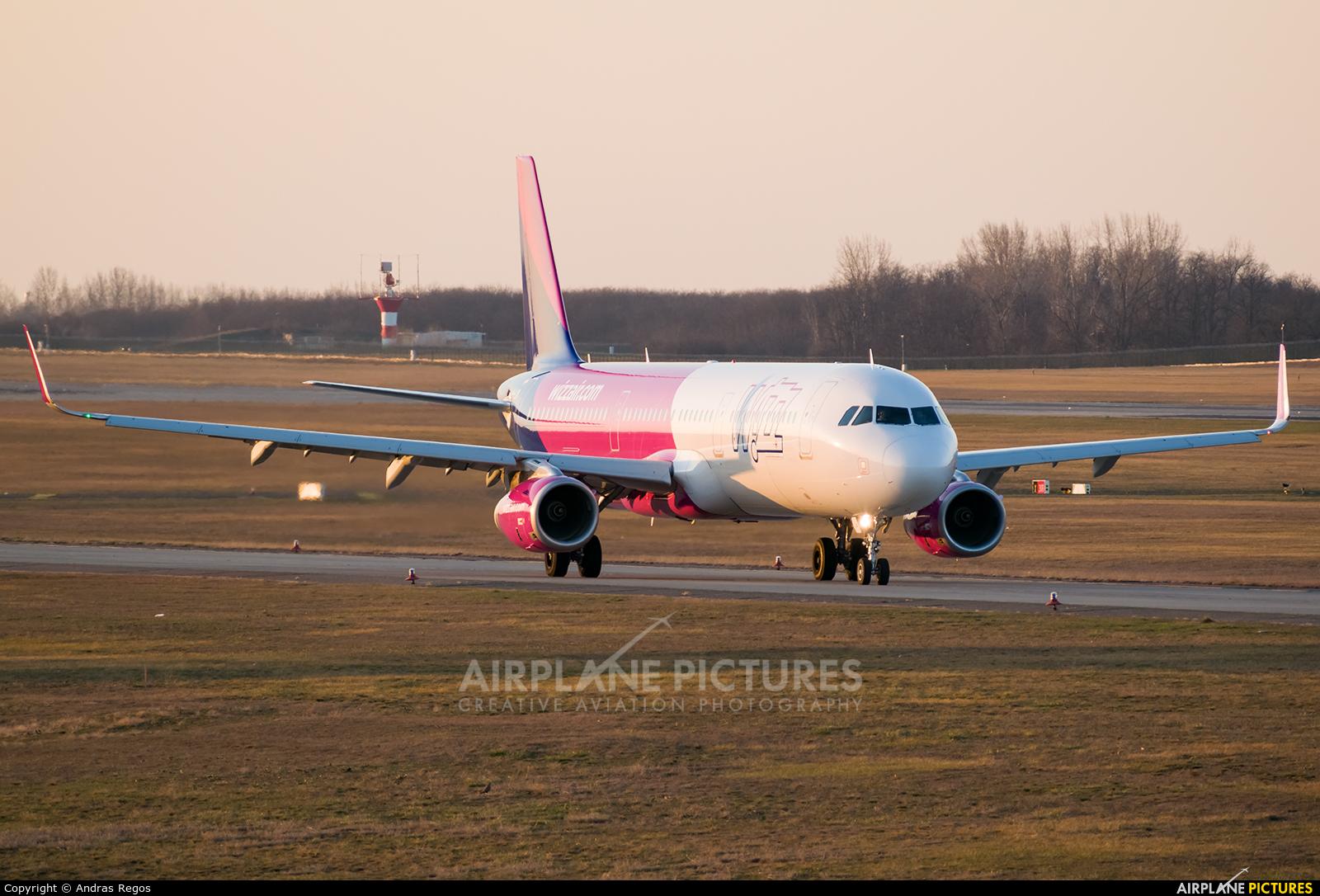 Wizz Air HA-LXV aircraft at Budapest Ferenc Liszt International Airport