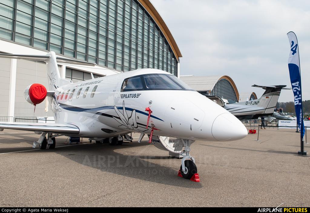 Pilatus HB-VVV aircraft at Friedrichshafen