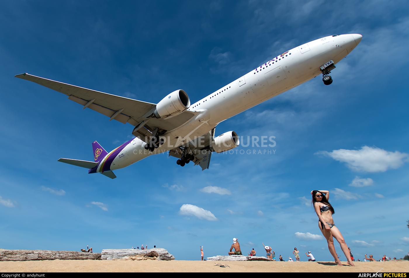 Thai Airways HS-TKK aircraft at Phuket