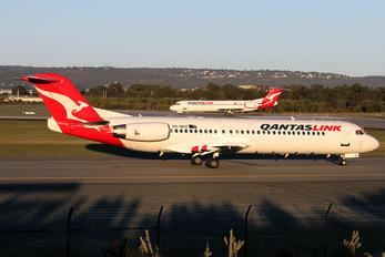 VH-NHZ - QantasLink Fokker 100