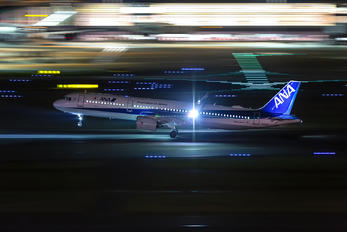 JA137A - ANA - All Nippon Airways Airbus A321 NEO