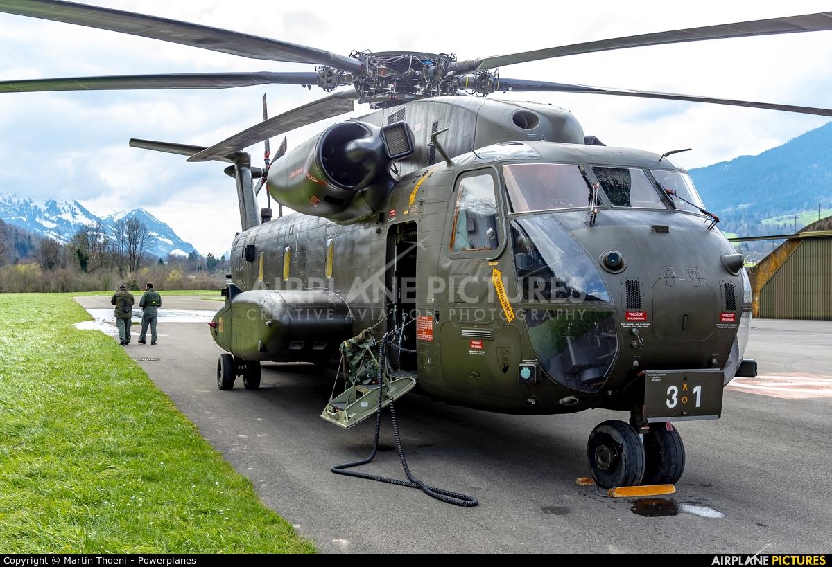 Germany - Air Force 84+31 aircraft at Alpnach