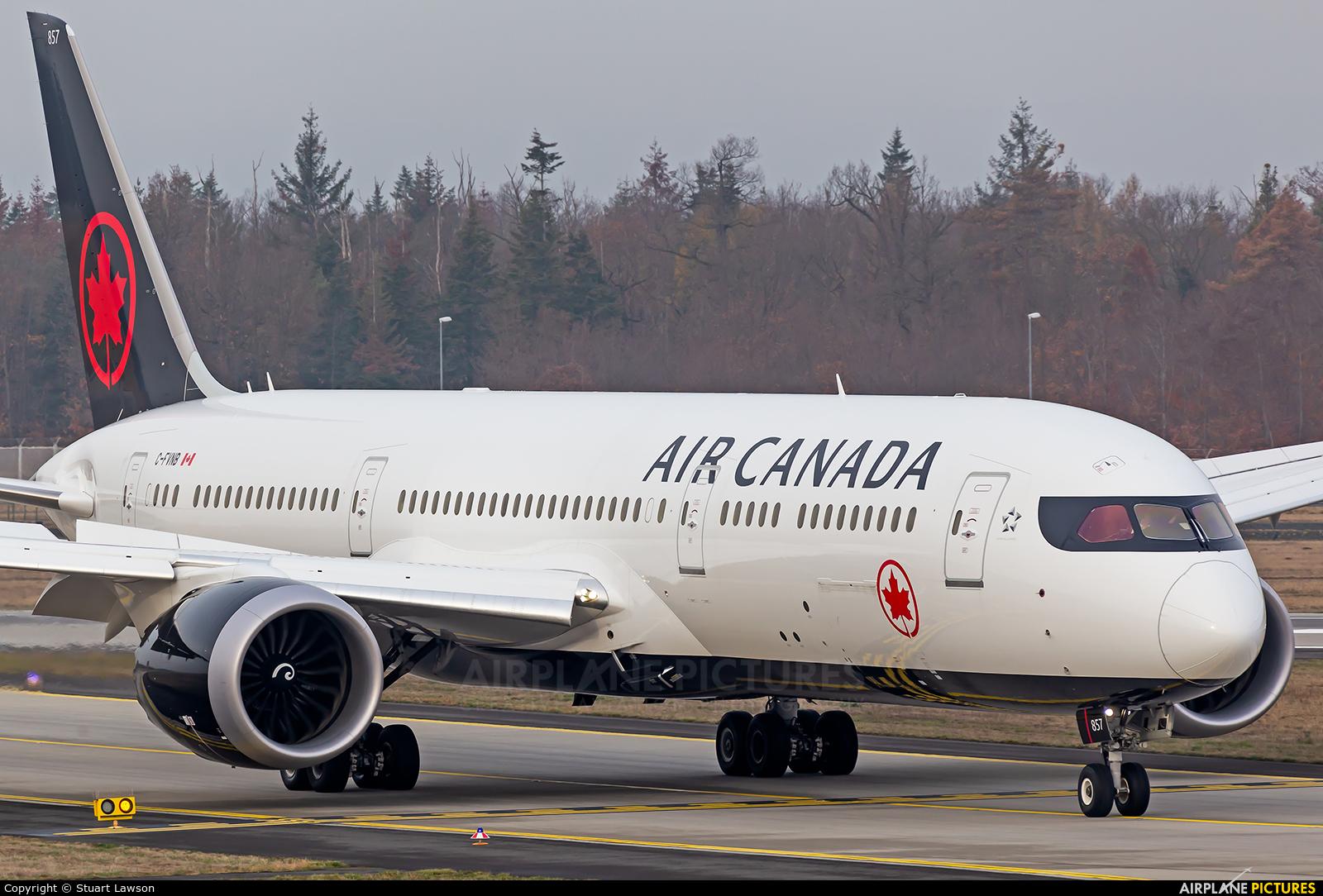 Air Canada C-FVNB aircraft at Frankfurt