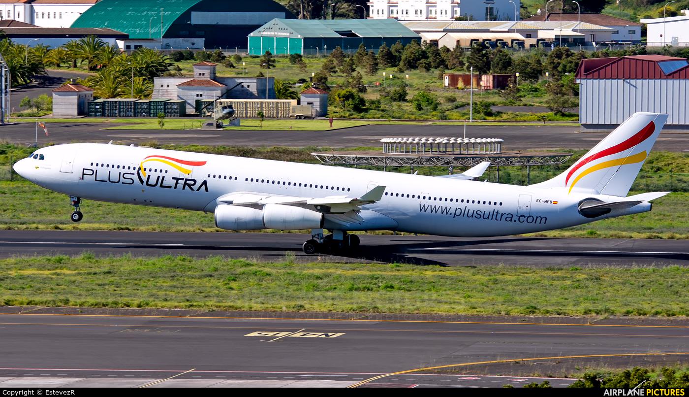 Plus Ultra EC-MFB aircraft at Tenerife Norte - Los Rodeos