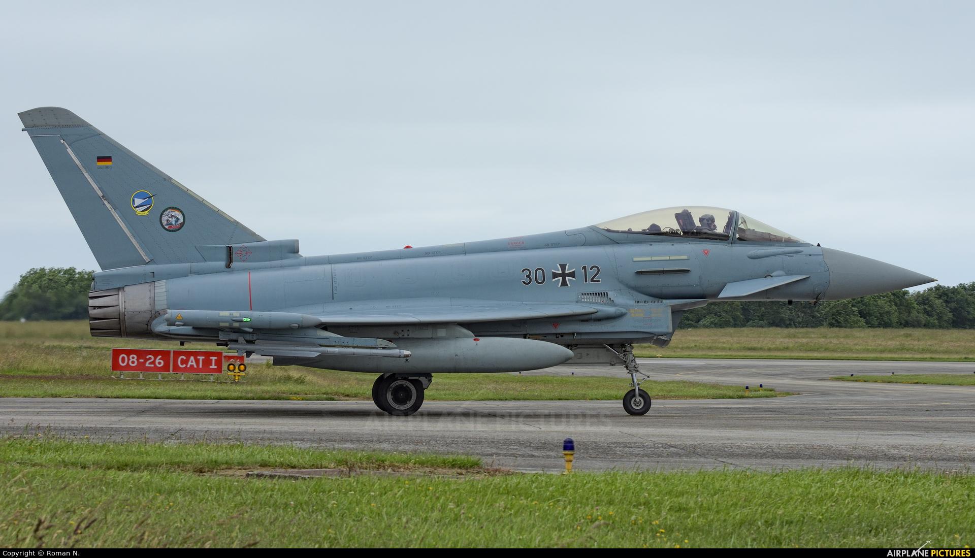 Germany - Air Force 30+12 aircraft at Landivisiau