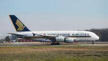 9V-SKL - Singapore Airlines Airbus A380 aircraft