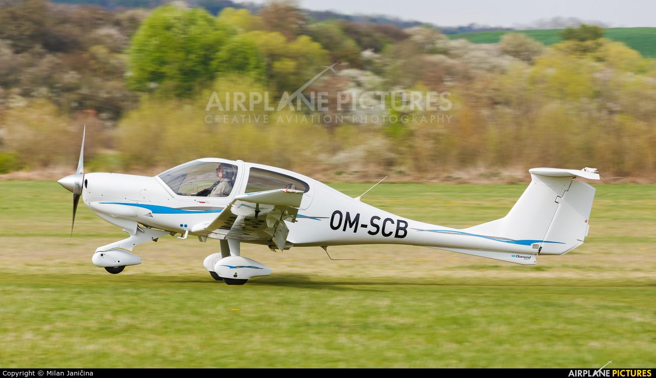 Flying Service School Banska Bystrica OM-SCB aircraft at Očová