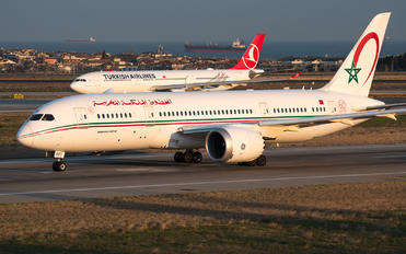 CN-RGU - Royal Air Maroc Boeing 787-8 Dreamliner