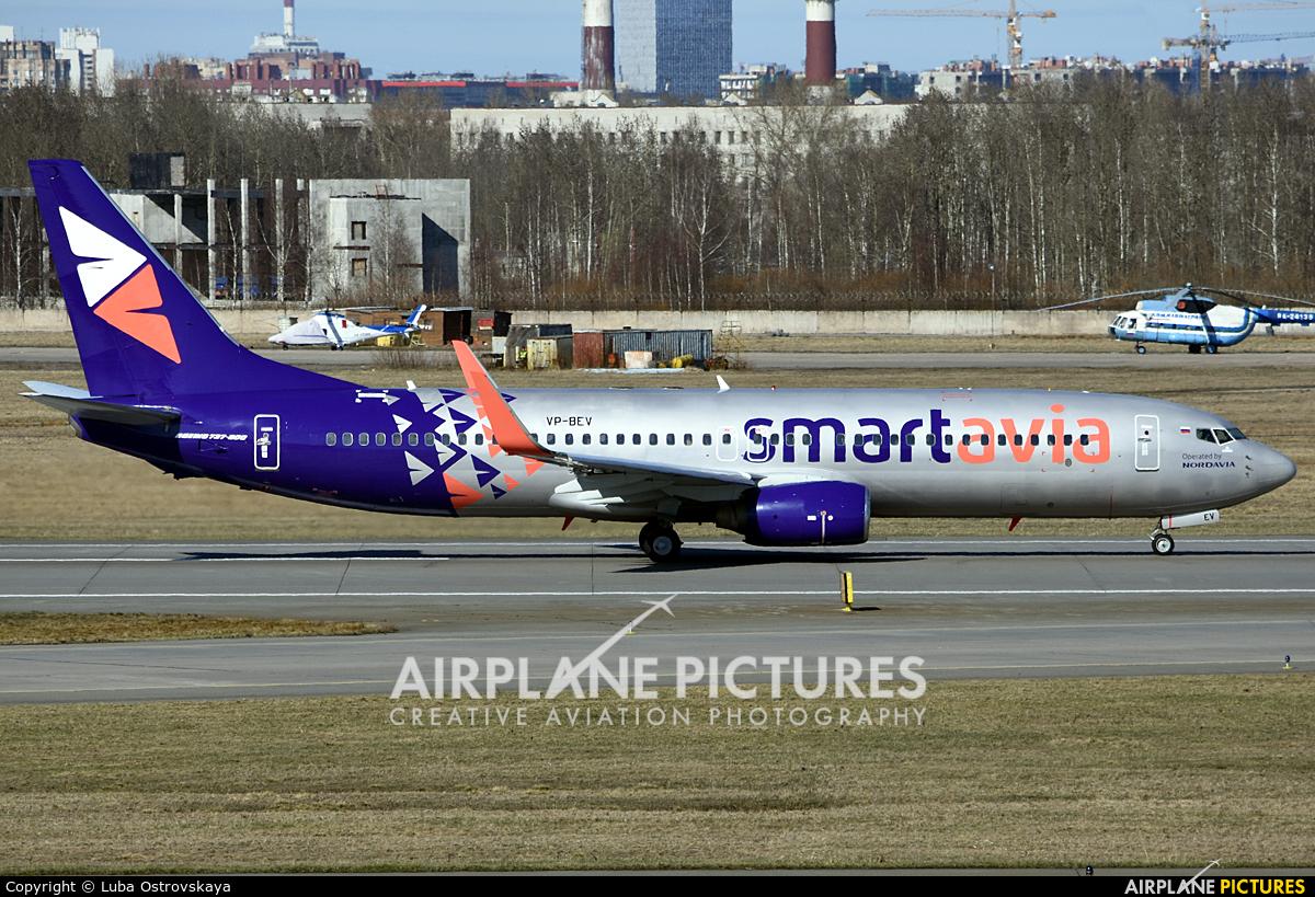 Smartavia VP-BEV aircraft at St. Petersburg - Pulkovo