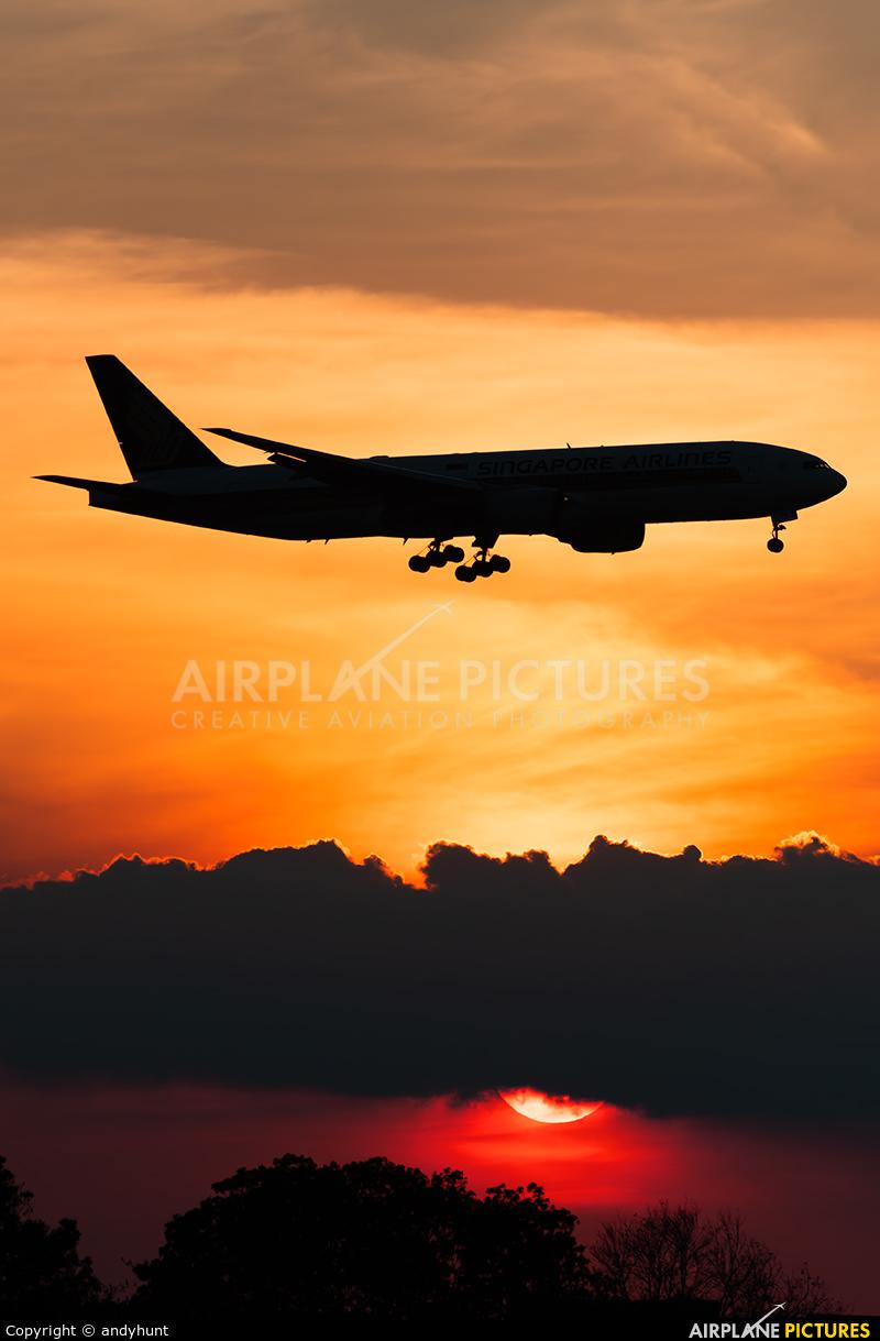 Singapore Airlines 9V-SVE aircraft at Singapore - Changi