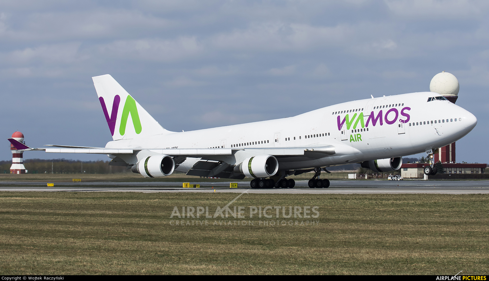 Wamos Air EC-MQK aircraft at Gdańsk - Lech Wałęsa