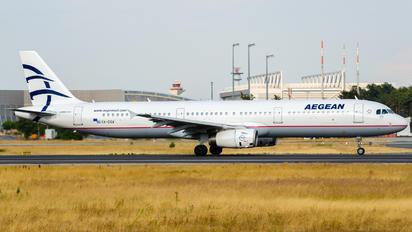 SX-DGA - Aegean Airlines Airbus A321