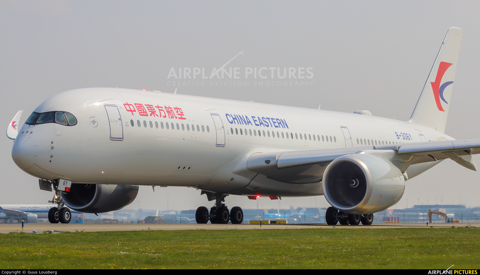 China Eastern Airlines B-306Y aircraft at Amsterdam - Schiphol